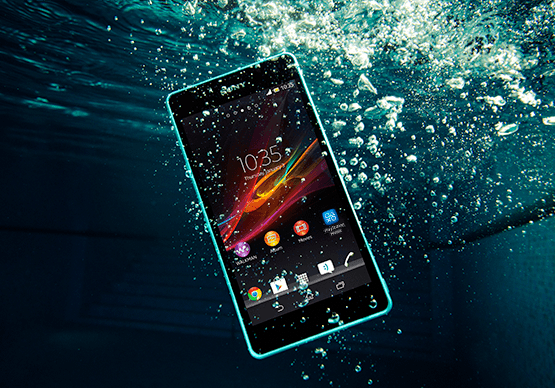 Sony-Xperia-ZR-Water-Resistant