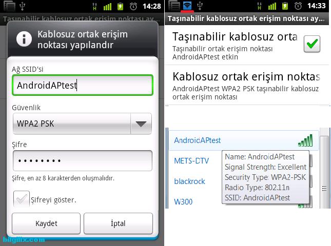 android-kablosuz-modem