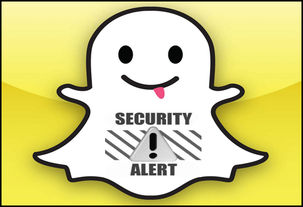 Snapchat-Security-Alert