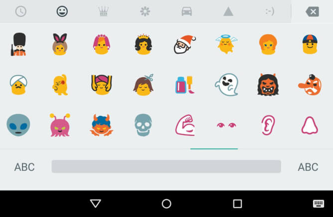 Nexus Kullanıcıları İçin Yepyeni Emojiler!