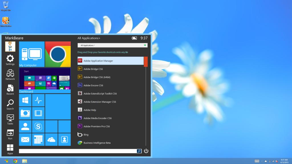 Windows 8 Bilgisayara Başlat Menüsü Eklemek