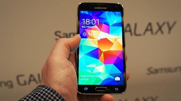 Galaxy S5 Yenik Başladı