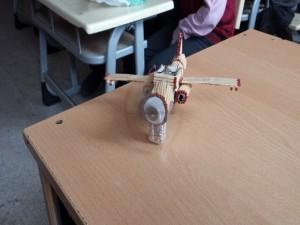 Çalışan Motorlu Uçak
