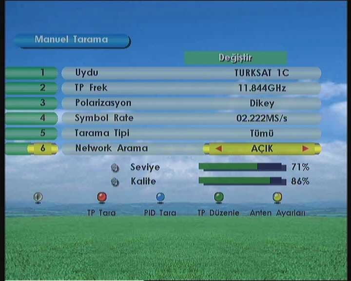 Türksat 4A Uydu Frekansları Nasıl Ayarlanır?
