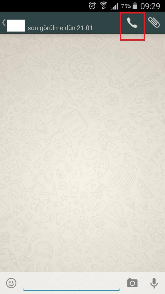 Whatsapp Sesli Arama Özelliğini Şimdi Kullanın