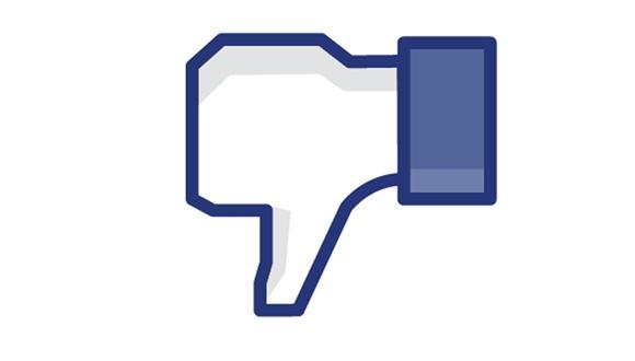 Facebook'ta Beğenmedim Butonu