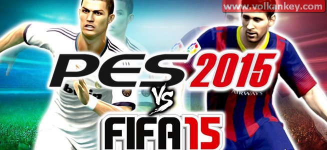 PES 2015 ve FIFA 2015 Grafik Karşılaştırması