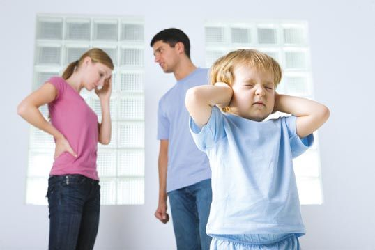 Çocukların Yanında Kavga Etmeyin