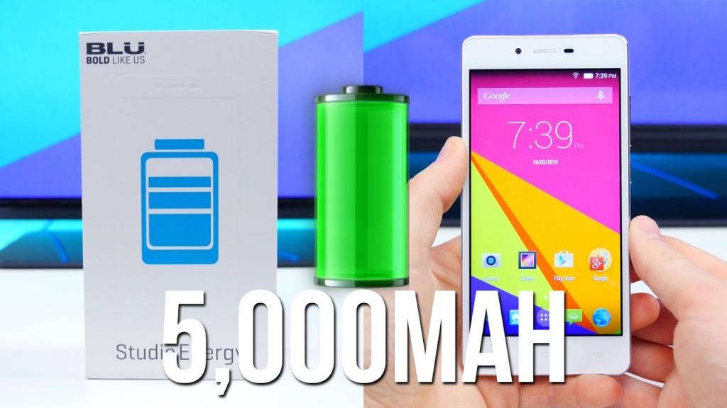 5000 mAh Bataryalı Telefon Blu Studio Energy