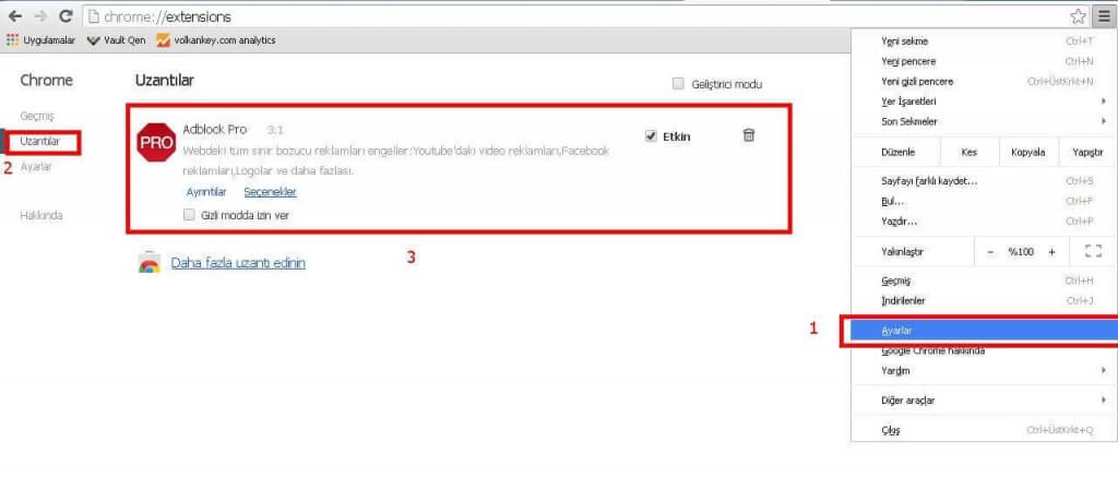Youtube Reklamlarını Kapatma
