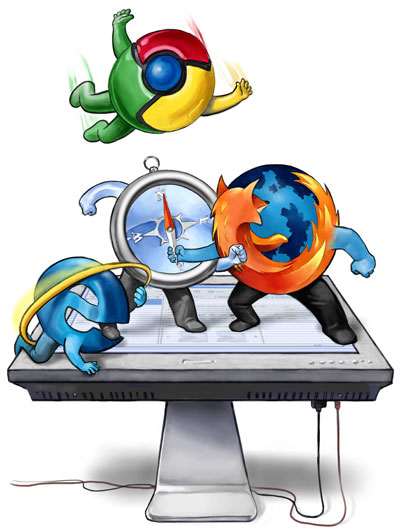 Chrome mu Firefox mu?