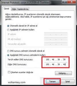 Youtube Güncel DNS Ayarları 2014